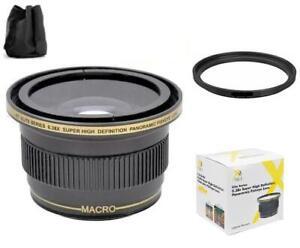 Xit 0.38x Wide Angle Fisheye Lens (52/58mm)