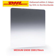 NiSi Medium GND8(0.9) 3Stop 150x170mm Nano IR Graduated Neutral Density Filter