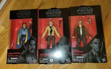 Star Wars Black Series Lot Of 3 Figures New and Factory Sealed