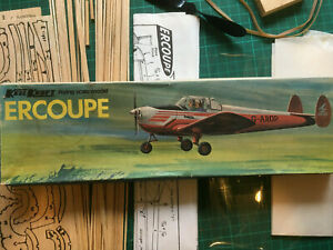 Keil Kraft Ercoupe Flying Scale Model - Rubber powered.