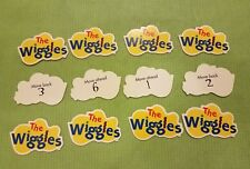 12 movement cards Wiggly Safari game replacement pieces parts Wiggles