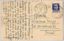 ITALIA REGNO storia postale - annullo POSTA MILITARE :  Ufficio Posta Speciale 8