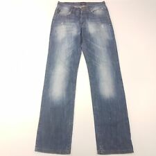 Emporio Armani  Mens  Jeans W31 L34 Blue Regular Fit Straight Mid Rise