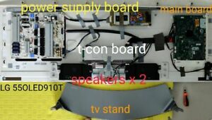 LG oled TV 55 inch 55OLED910T spare parts