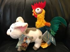 Plush Pua & Hei Hei from Moana Disney Store Authentic US Seller NWT ~ Ships Fast