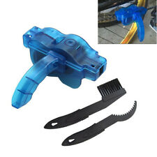 Cycling Bike Bicycle Cranks Chain Wheel Wash Cleaner Tool Brush Scrubber 3Pc Set