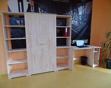 meubles de bureau cabinet travail complet Mobilier bois massif NEUF offre