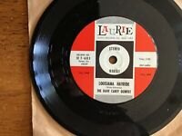 """THE DAVE CAREY QUINTET- LOUISIANA HAYRIDE/SHINE ON YOUR SHOES 7""""45 PLAYS EX."""