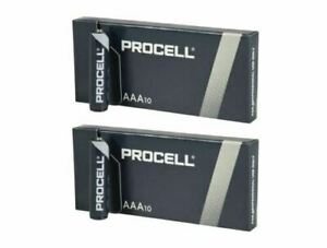 Duracell AA AAA Batteries Now PROCELL Industrial Alkaline MN1500 LR6 EXPIRY 2026