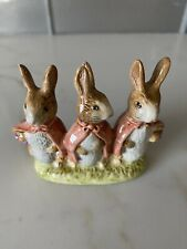 BEATRIX POTTER'S Flopsy Mopsy and Cottontail FIGURINE 1954 Beswick ENGLAND