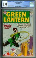 GREEN LANTERN #22 CGC 8.0 OW/WH PAGES // HECTOR HAMMOND APPEARANCE