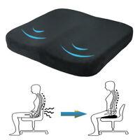 Coussin de chaise de siège de mousse de mémoire de soulagement de douleur