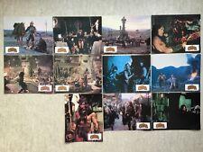 Conan le Barbare 11 Photos d'exploitation (Arnold Schwarzenegger) Lobby Cards