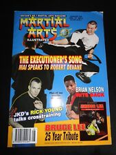 Martial Arts Illustrated Magazine August 1998 Vol. 11 No. 3 - Bruce Lee