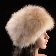 Posh Luxury Ladies Top Quality Faux Fur Glam Hat guess present for her !!