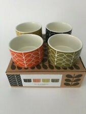 Orla Kiely Set of 4 Linear Stem Ceramic Ramekins - Brand New - Free Postage