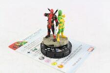 Heroclix Marvel Deadpool And Bob 049 SR Super Rare V2