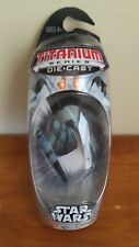 Vulture Droid Titanium Series Die-Cast Star Wars 2005 Hasbro Micro Machines New
