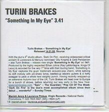 (M456) Turin Brakes, Something In My Eye - DJ CD