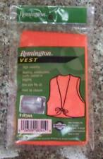 Remington BlazeOrange Vest Hunting,construction,jogging