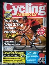 CYCLING WEEKLY - PENNINES & CHILTERNS RIDES - JUNE 11 2009