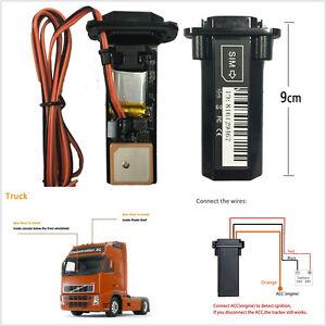 ABS Plastic Car Waterproof Mini Builtin Battery GSM GPS Tracker A11 Universal