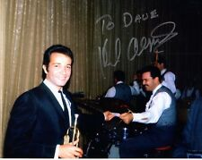 HERB ALPERT HAND SIGNED 8x10 COLOR PHOTO+COA      AMAZING YOUNG POSE     TO DAVE