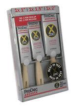 ProDec 3pc Advance X-Zero Synthetic Paint Brush Set Painters Brushes (ABPT056)