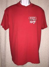 Vintage Bryant Heating & Cooling Racing t-shirt size adult M/L Screen Stars