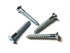 100 Stück MINI-Holzschrauben DIN 97 (Schlitz) gal. verzinkt 2 mm Durchmesser