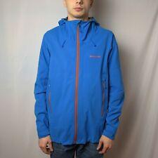PATAGONIA Dimensions Jacket Mens L GORE-TEX WINDSTOPPER Hoodie Blue