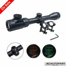 3-9x40EG Red/Green Illuminated Tactical Optical Rifle Scope Mil Dot Sight