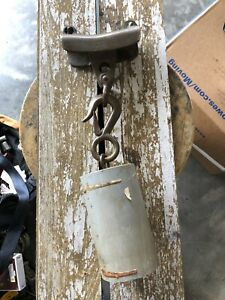 ABI Bronze Anchor Sentinel Rope Rider Kellet W/ 18lb Bronze Weight