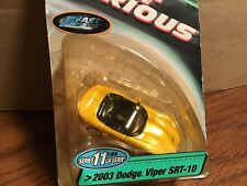 1 64 Racing Champions Fast Furious Series 11 Dodge Viper Convertible 2003 Yellow