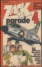 Zack Parade Taschenbuch Nr. 4 (Koralle 1973) Z 2