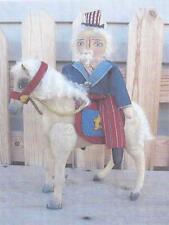 Pattern-Primitive Uncle Sam & Horse - Americana! - R & K Creations
