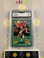 1989 Score Jerry Rice #292 All Pro - 9 MINT GMA Graded NFL 49ers Football Card