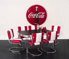 Bel Air Diner SET Küchen/Esstisch TO-26 inkl. 4 Stühle CO-25 USA Retro Lifestyle