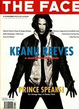 THE FACE 12/1991 KEANU REEVES Malcolm McLaren BRUCE WEBER Bella Freud PRINCE