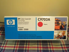 New Genuine HP Color LaserJet C9703A Magenta Print Cartridge for HP1500 2500