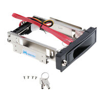 3.5Inch SATA 2.0 HDD Storage Mobile Rack Hard Drive Disk Bracket Enclosure