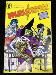 Mayhem #4 (1989 Dark Horse Comics) early issue The Mask ~ 9.2 NM-
