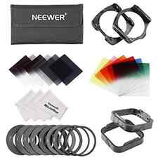 Neewer Square Filter Kit for Cokin P Series: Full and Graduated ND Filters, Grad