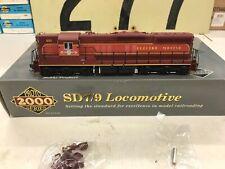 Proto 2000 HO Scale SD7 EMD Demo Powered Locomotive With DCC and Sound #990 NOS