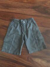 Nordstrom Micros Toddler Boys GRAY  Cargo Shorts Size 2T Adjustable Waist