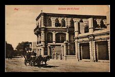 DR JIM STAMPS BOULEVARD BAB EL FARAD HORSE CARRIAGE POSTCARD