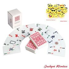 American Mahjong Mah Jongg Playing Cards Kards New Gift