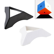 1PC Magic Cube Display Stand ABS Triangle Base Lightweight - Black / White