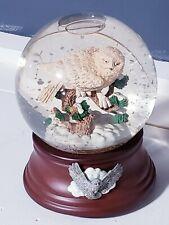 San Francisco Music Box Snow Globe Snowbird National Geographic Society