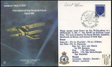 GB 1982 RAF B4 Handley Page 0/400, Signed Flown Cover #C24978